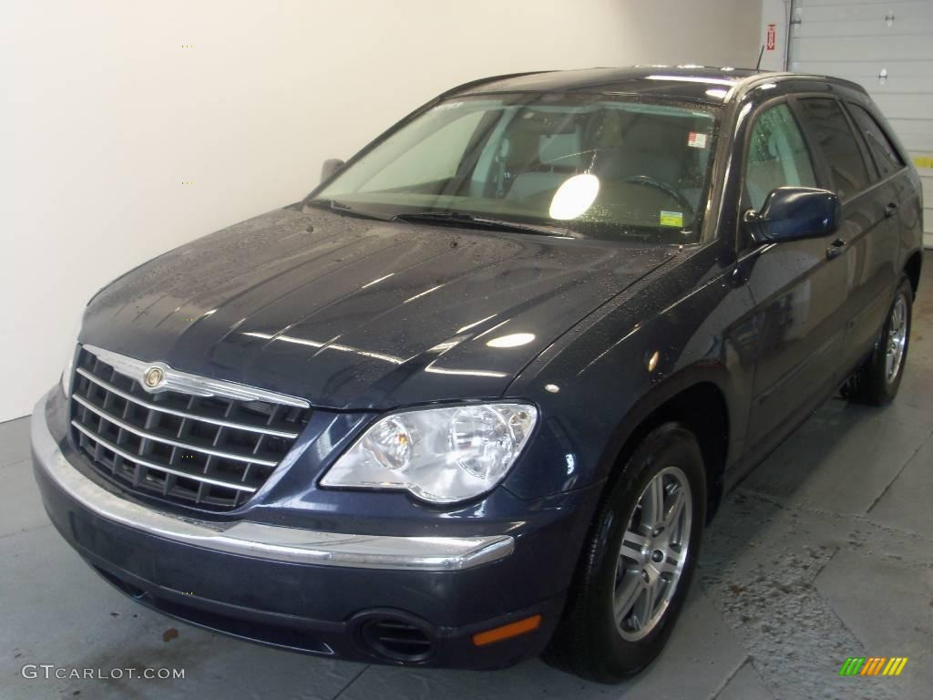 2007 modern blue pearl chrysler pacifica touring awd. Black Bedroom Furniture Sets. Home Design Ideas