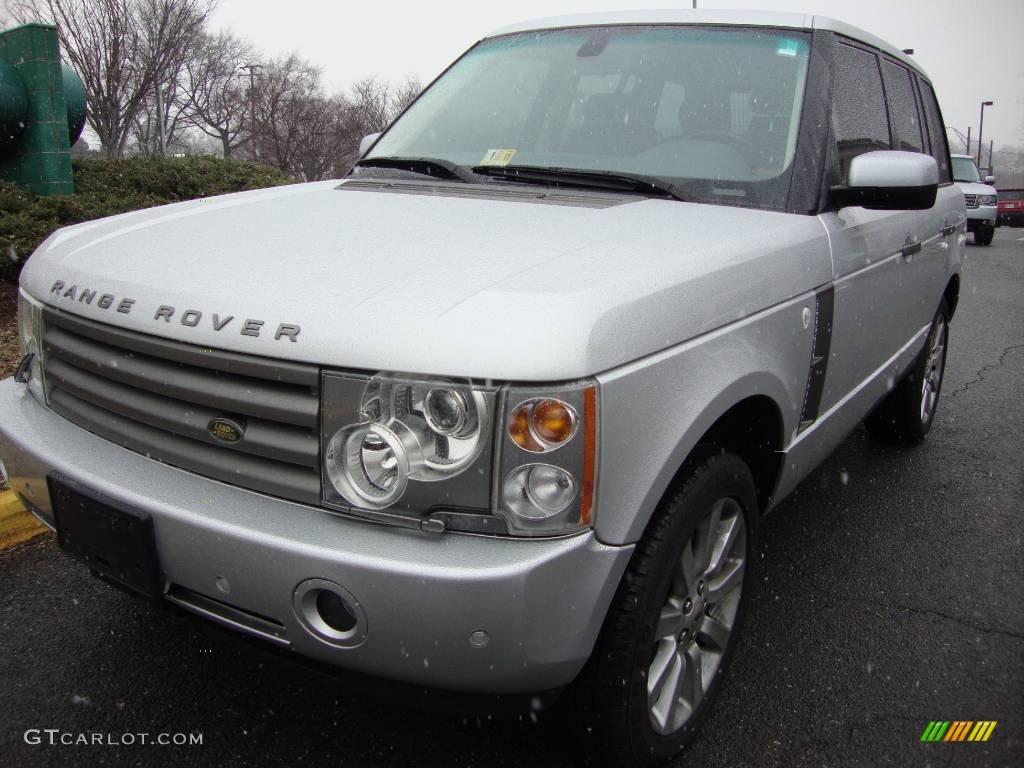 2005 Range Rover HSE - Zambezi Silver Metallic / Navy/Parchment photo #1
