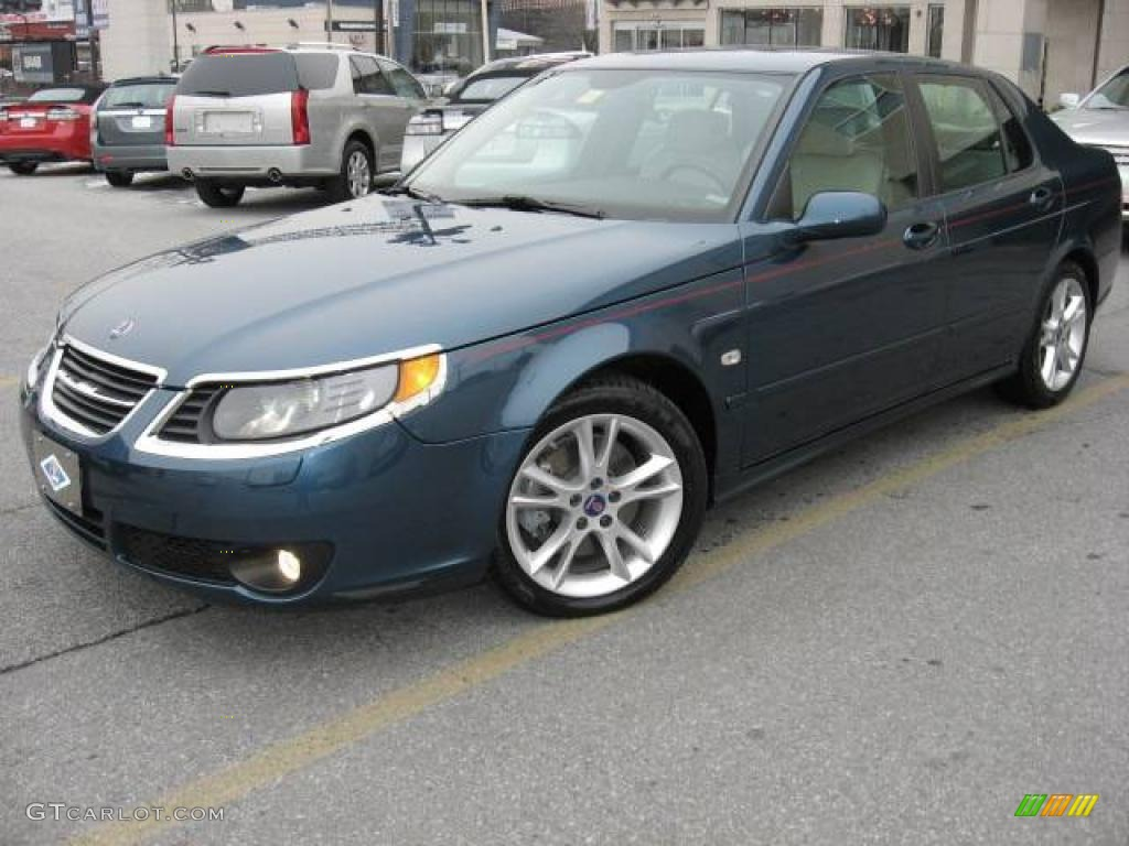 Fusion blue metallic saab 9 5