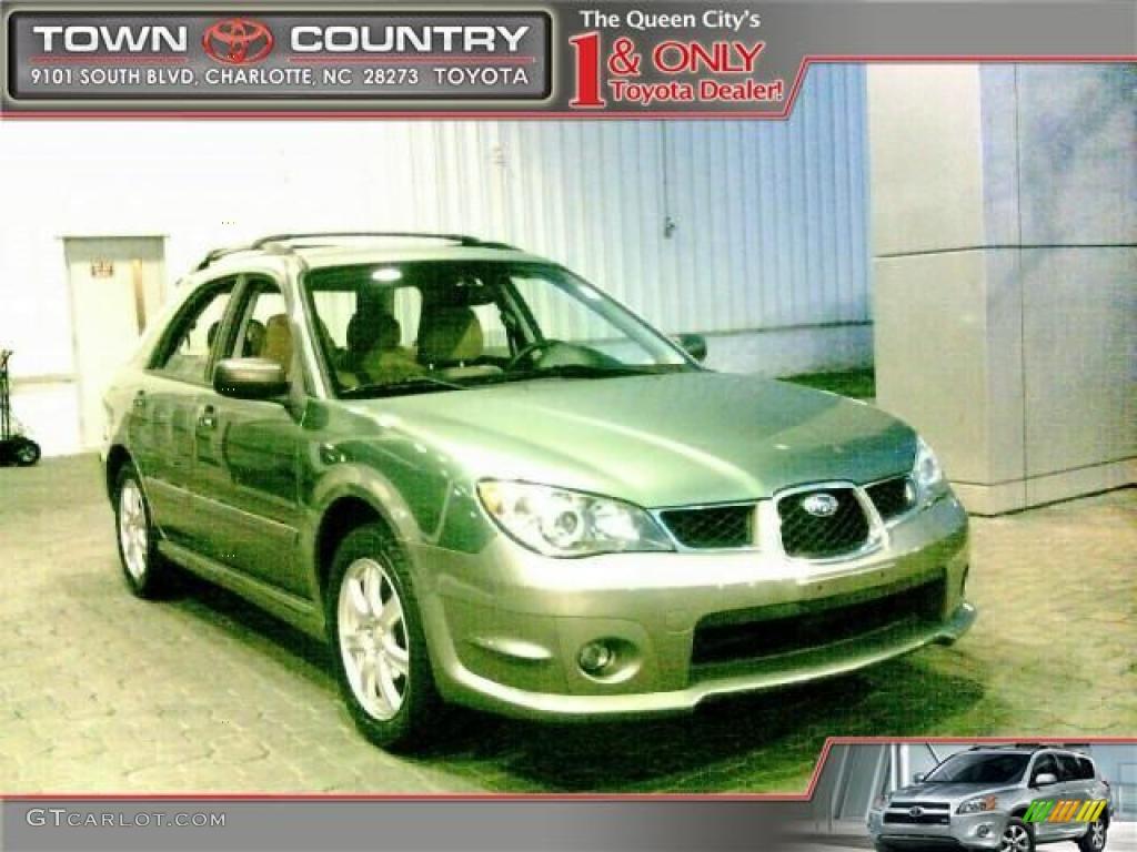2006 evergreen metallic subaru impreza outback sport wagon 25632117 car color. Black Bedroom Furniture Sets. Home Design Ideas