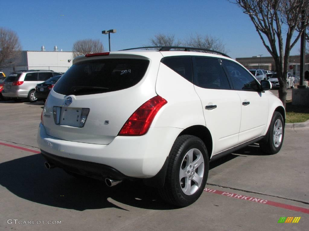 2005 glacier pearl white nissan murano s 2559085 photo 6 car color galleries. Black Bedroom Furniture Sets. Home Design Ideas