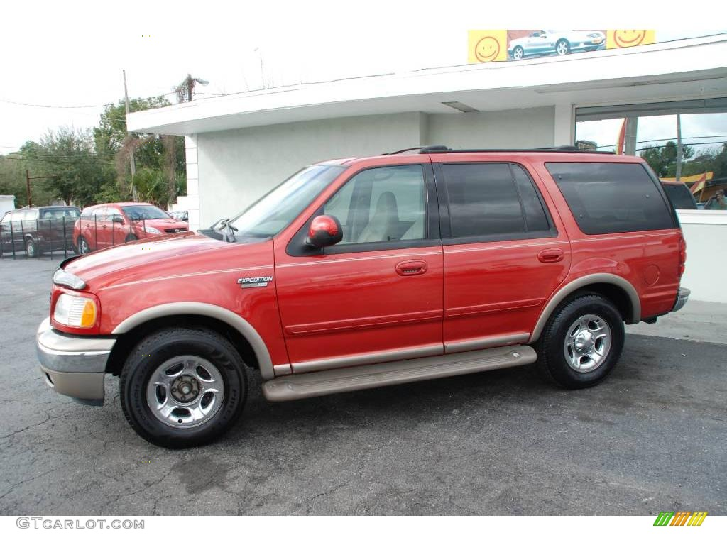 2002 laser red ford expedition eddie bauer 25676035 car color galleries. Black Bedroom Furniture Sets. Home Design Ideas