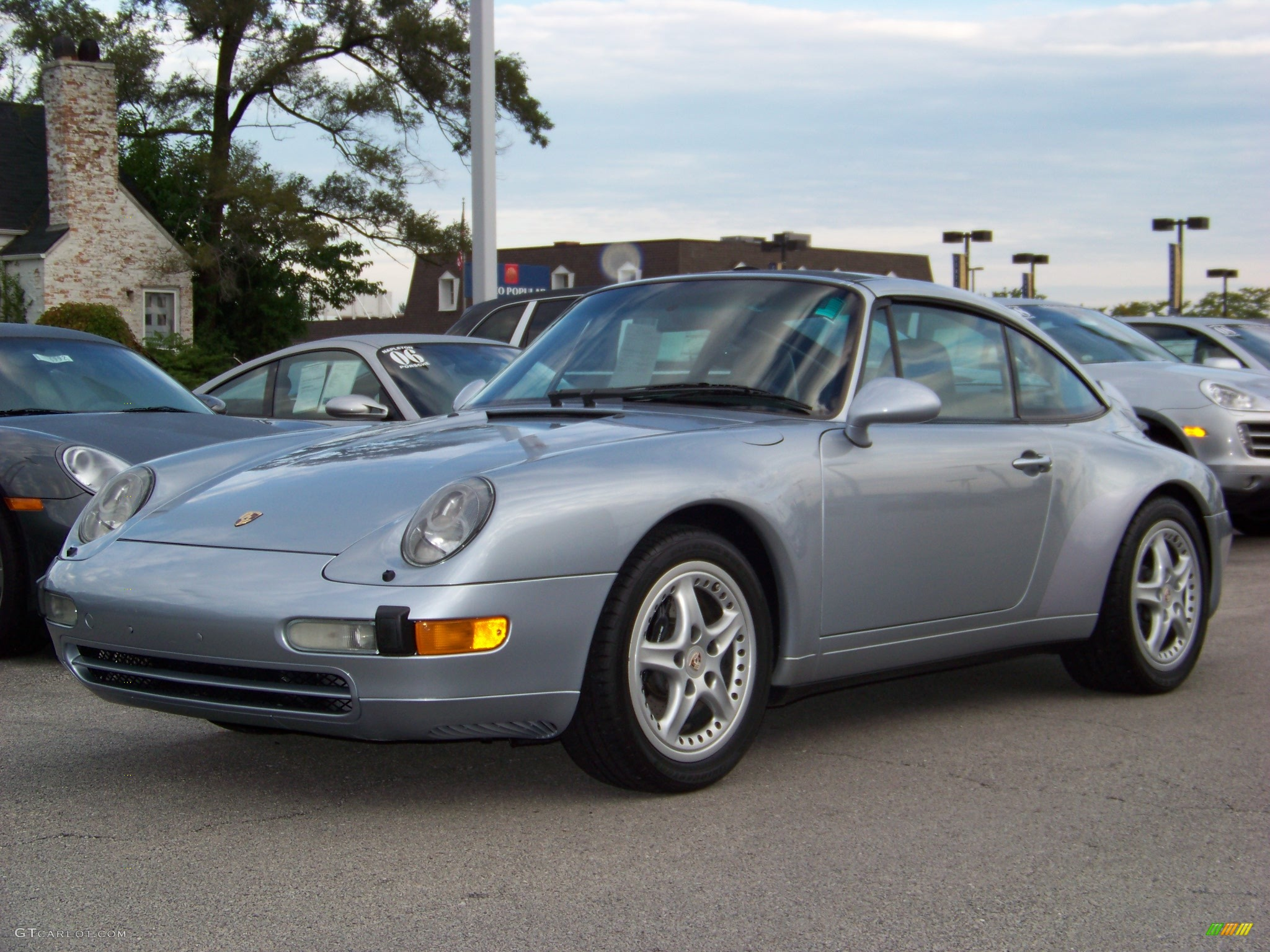 1996 Silver Porsche 911 993 Targa 257092 Gtcarlot Com