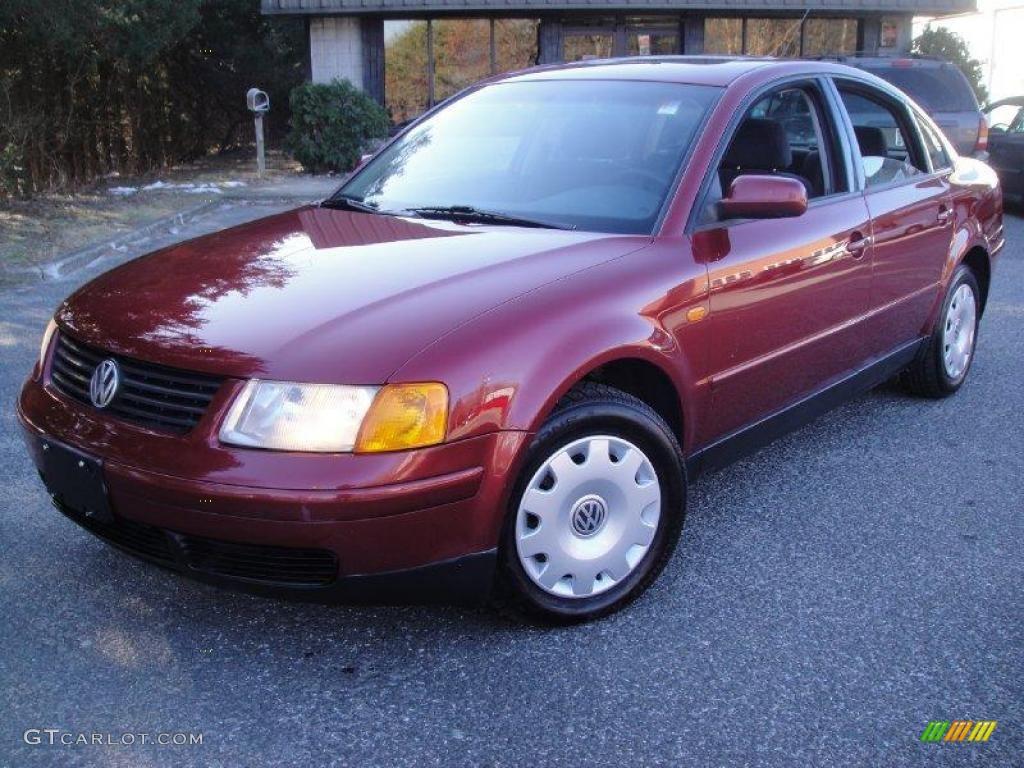 1998 colorado red volkswagen passat gls 1 8t sedan 25710049 car color galleries. Black Bedroom Furniture Sets. Home Design Ideas