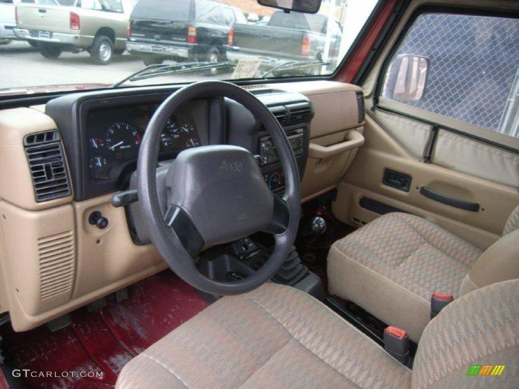1999 Chili Pepper Red Pearlcoat Jeep Wrangler SE 4x4 ...