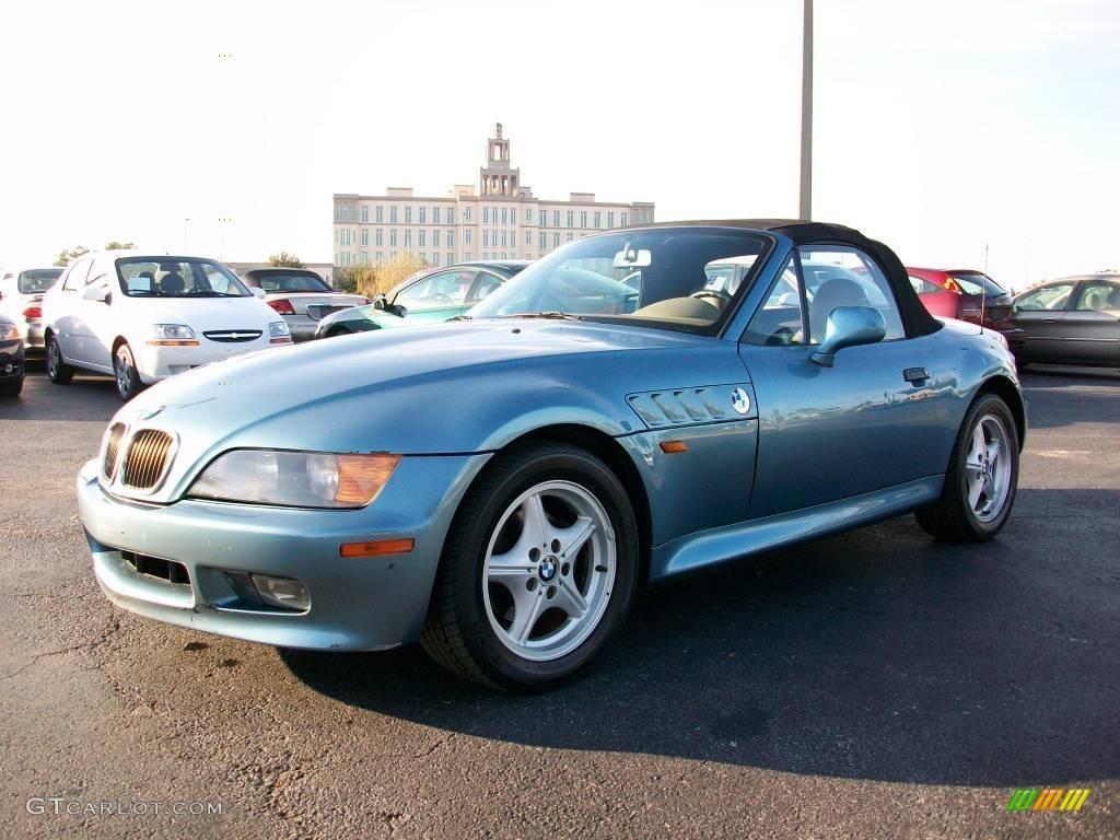 1997 atlanta blue metallic bmw z3 1 9 roadster 25710206 car color galleries. Black Bedroom Furniture Sets. Home Design Ideas