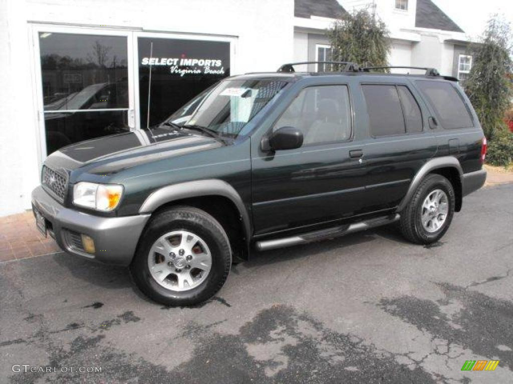 2000 sherwood green nissan pathfinder le 4x4 25709737 gtcarlot com car color galleries gtcarlot com