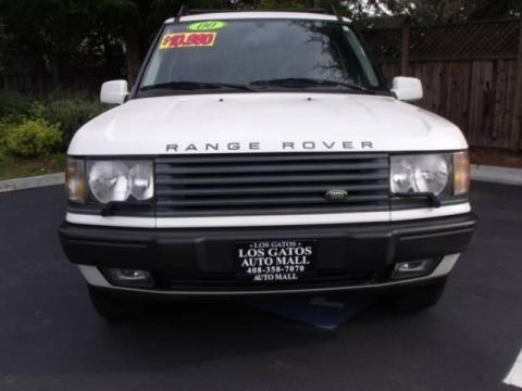 2000 Chawton White Land Rover Range Rover 4.6 HSE