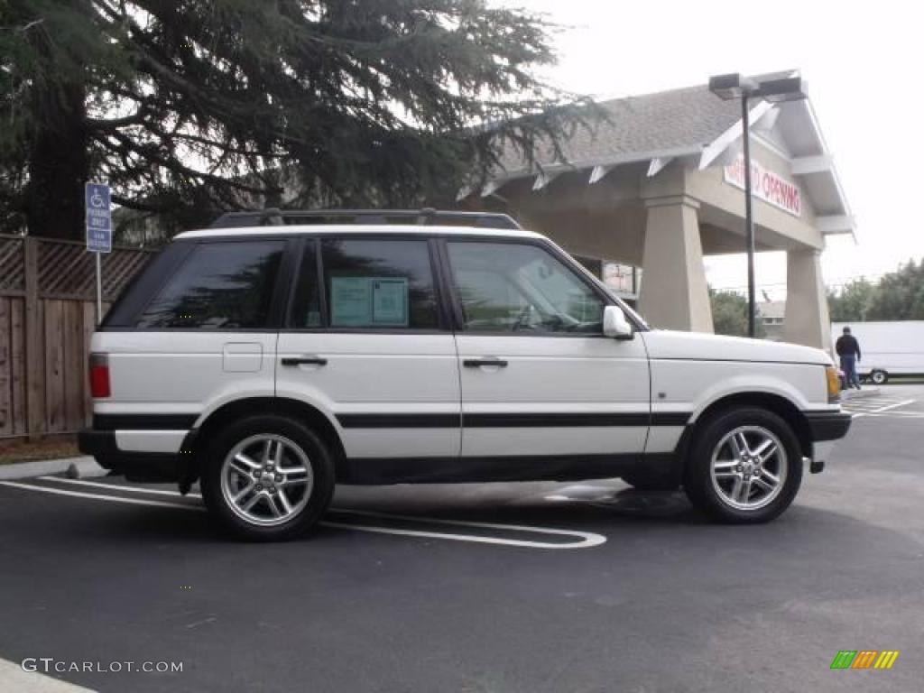 2000 chawton white land rover range rover 4 6 hse 25710236 photo 2 car color. Black Bedroom Furniture Sets. Home Design Ideas
