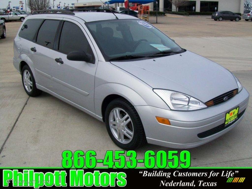 2001 cd silver metallic ford focus se wagon 25752218 car color galleries. Black Bedroom Furniture Sets. Home Design Ideas