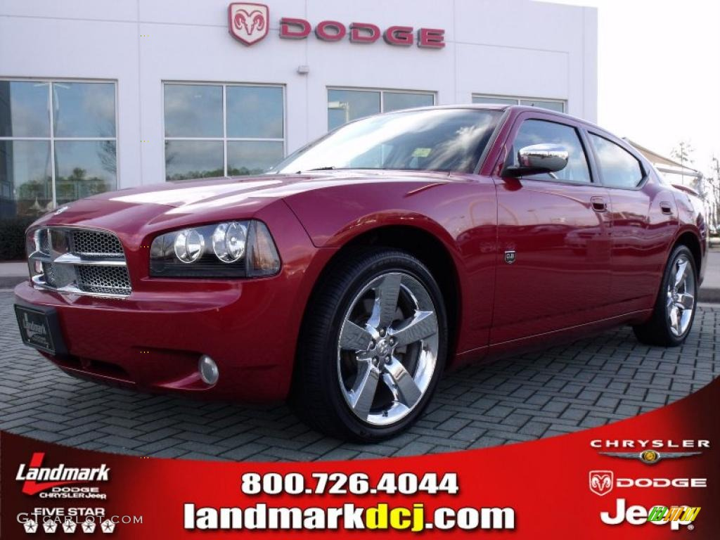 Inferno red crystal pearl dodge charger