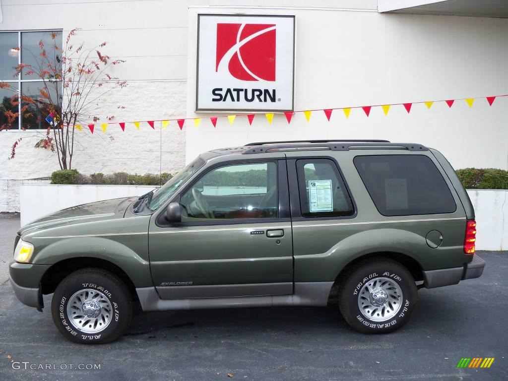 2001 ford explorer sport spruce green metallic color dark graphite. Cars Review. Best American Auto & Cars Review
