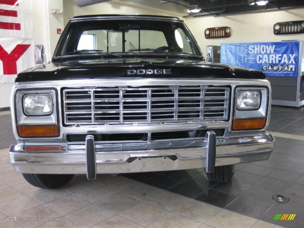 1985 silver metallic dodge ram truck 150 royal se 25792614 photo 5 car color. Black Bedroom Furniture Sets. Home Design Ideas