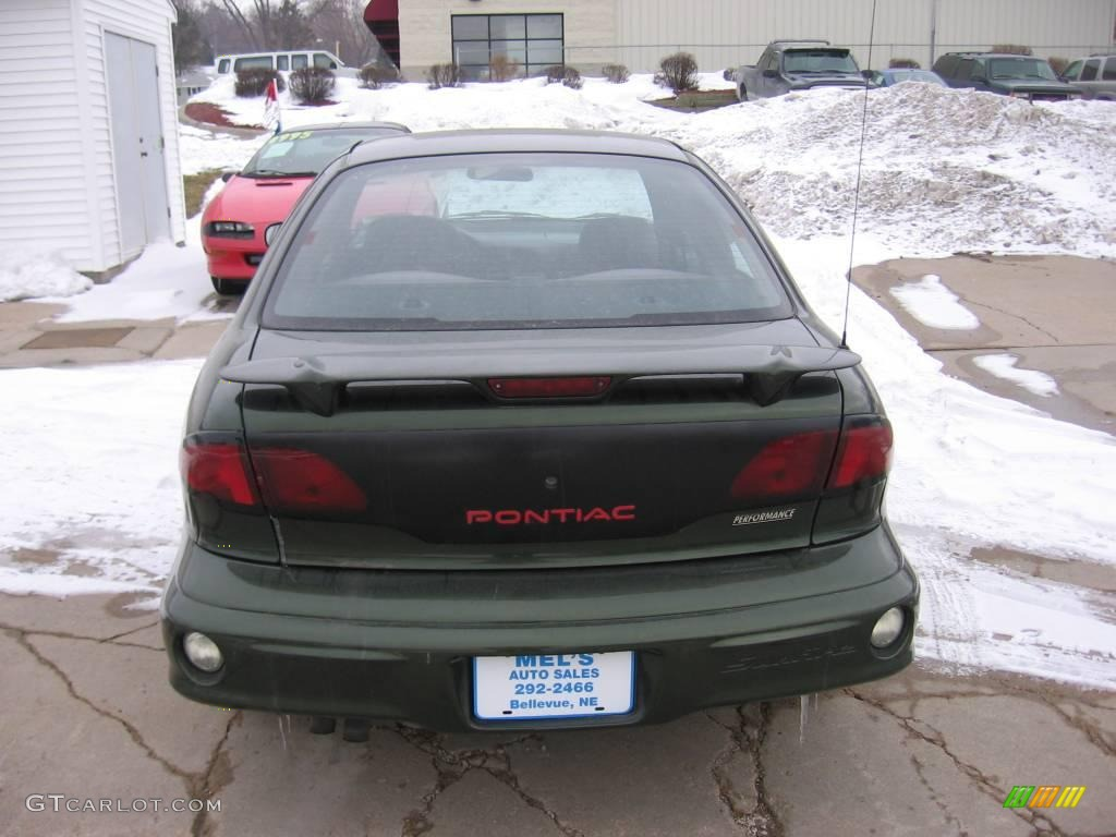 2000 spruce green metallic pontiac sunfire se sedan. Black Bedroom Furniture Sets. Home Design Ideas