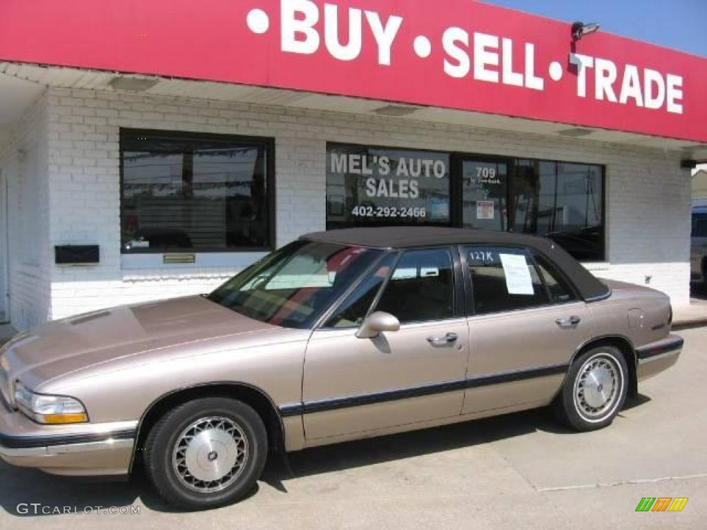 Champagne beige metallic buick lesabre