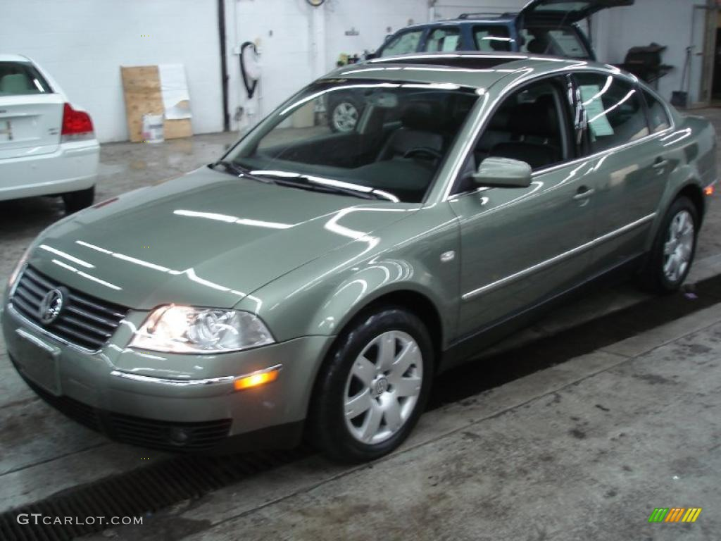 2002 fresco green metallic volkswagen passat glx sedan 25792699 car color. Black Bedroom Furniture Sets. Home Design Ideas