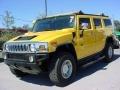 2003 Yellow Hummer H2 SUV  photo #7