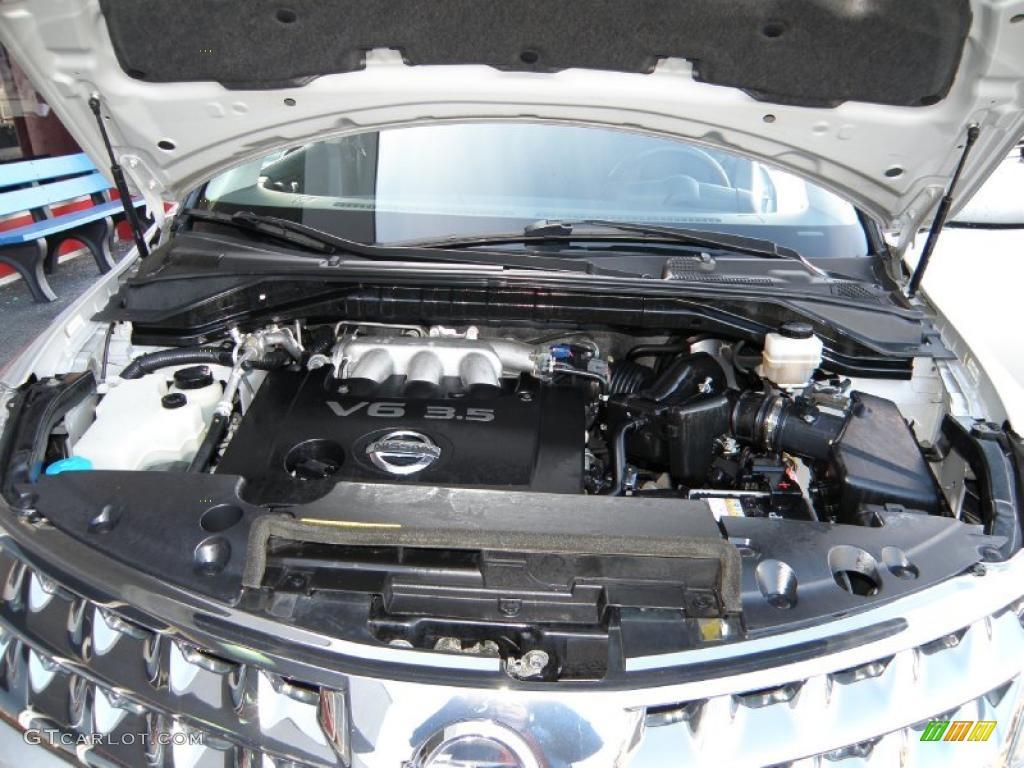 2007 Murano S AWD - Brilliant Silver Metallic / Charcoal photo #14
