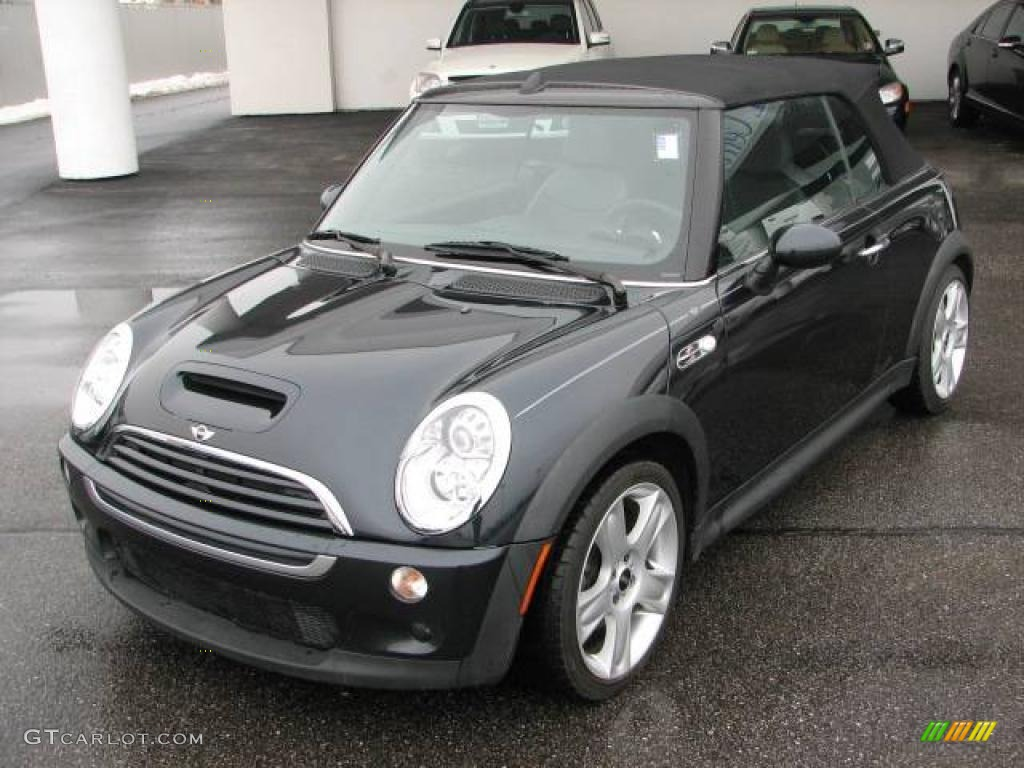 Astro Black Metallic Mini Cooper S Convertible