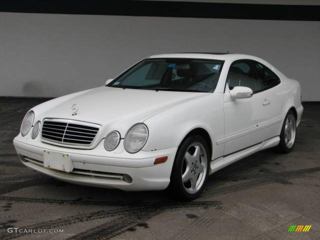 2000 glacier white mercedes benz clk 430 coupe 2586467 car color galleries. Black Bedroom Furniture Sets. Home Design Ideas