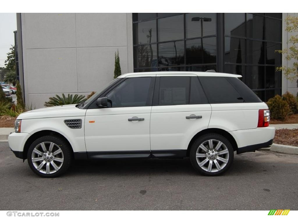2007 chawton white land rover range rover sport supercharged 25841786 photo 2. Black Bedroom Furniture Sets. Home Design Ideas