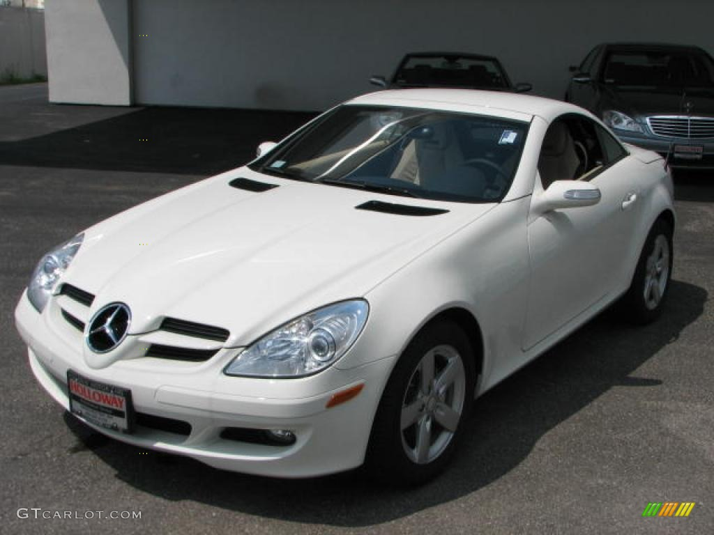 2008 arctic white mercedes benz slk 280 roadster 2586494 car color galleries. Black Bedroom Furniture Sets. Home Design Ideas