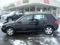 Black 2000 Volkswagen Golf GLS 4 Door