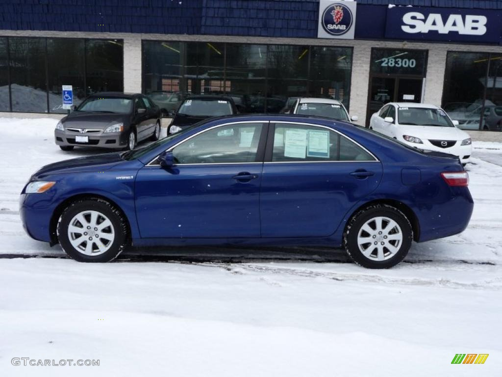 Blue Ribbon Metallic Toyota Camry