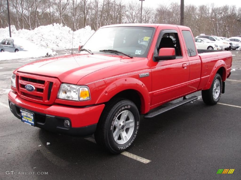 Torch red ford ranger