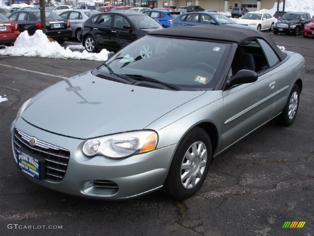 2005 satin jade pearl chrysler sebring convertible 25916808 car color galleries. Black Bedroom Furniture Sets. Home Design Ideas