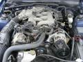 2002 Sonic Blue Metallic Ford Mustang V6 Convertible  photo #29