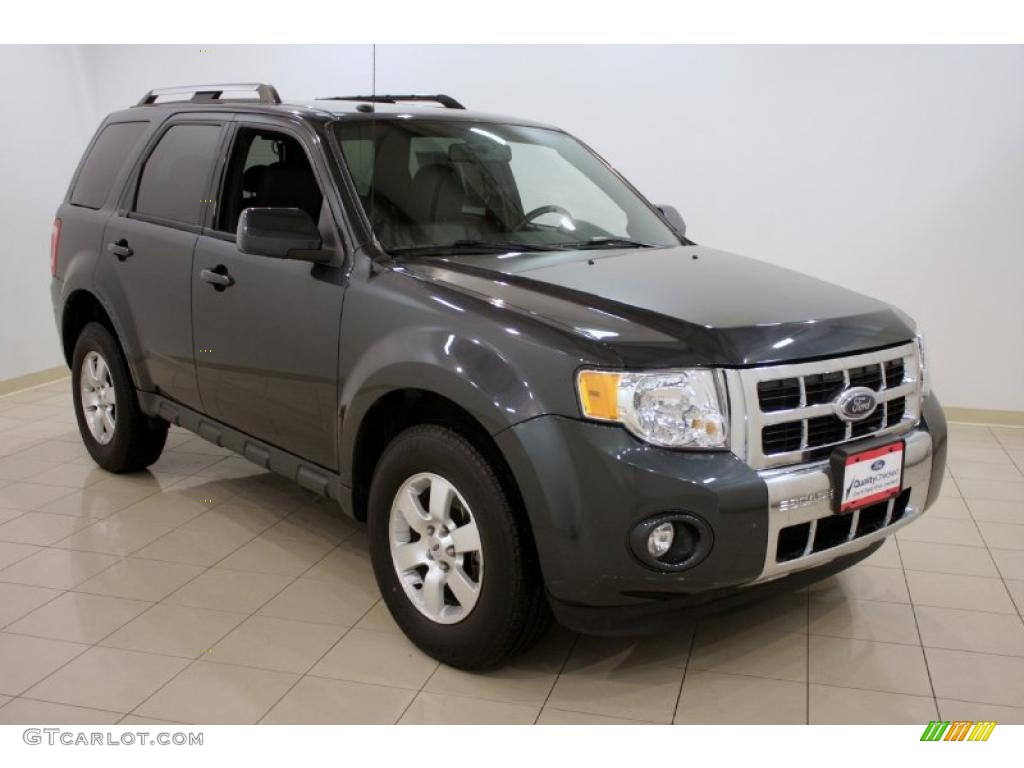 2009 Escape Limited V6 4WD - Black Pearl Slate Metallic / Charcoal photo #1