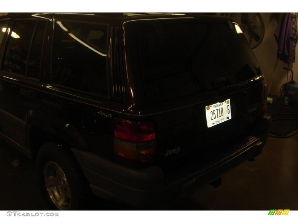 1996 Grand Cherokee Laredo 4x4 - Dark Rosewoood Pearlcoat / Agate photo #14