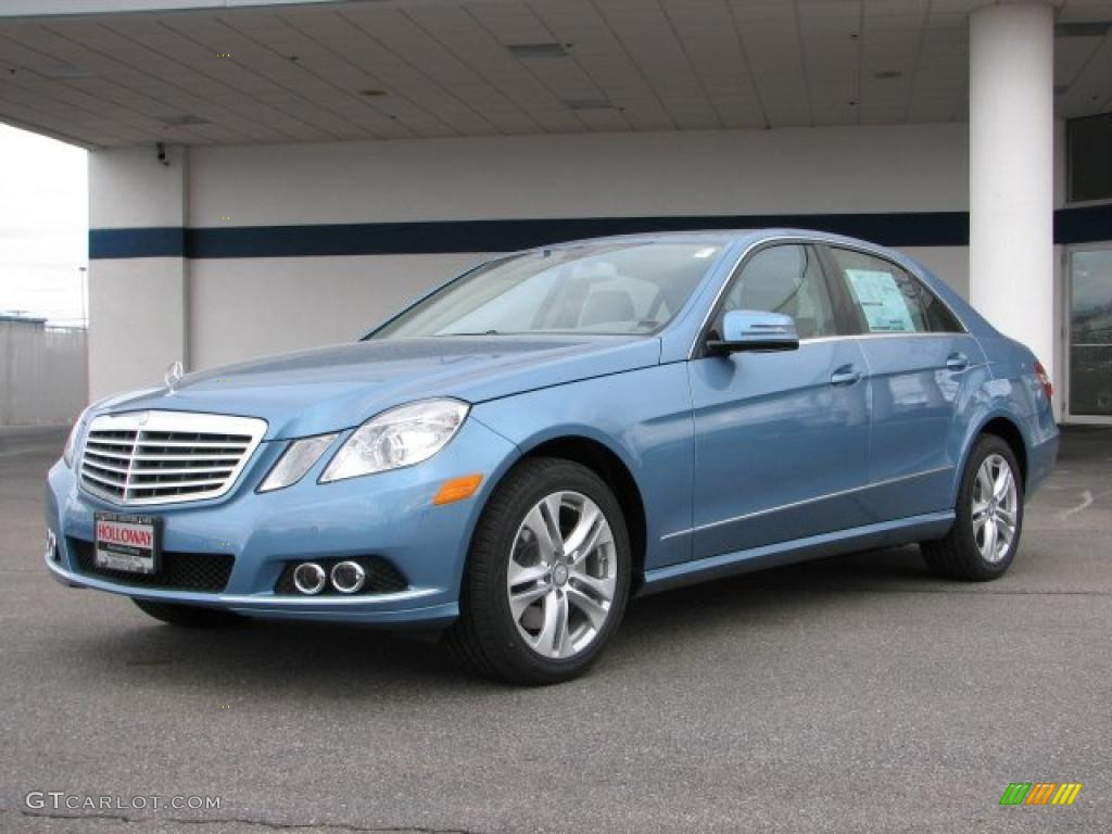 2010 quartz blue metallic mercedes benz e 350 4matic sedan for 2010 mercedes benz e350 sedan