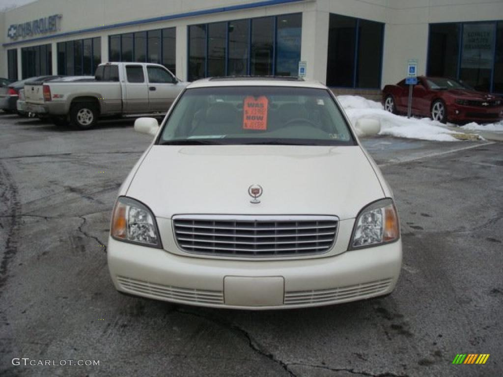 2002 White Diamond Pearl Cadillac DeVille Sedan #25920283 Photo #8 | GTCarLot.com - Car Color ...