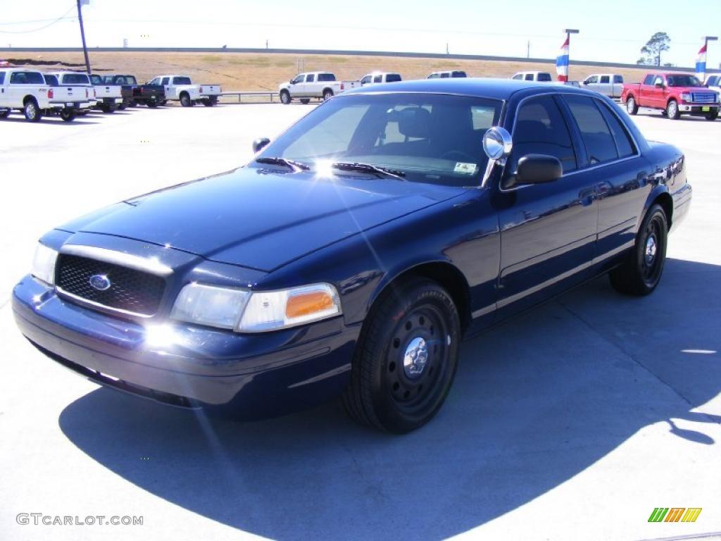 2007 Police Dark Blue Ford Crown Victoria Police ...  |Blue Ford Interceptor