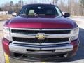 2009 Deep Ruby Red Metallic Chevrolet Silverado 1500 LT Extended Cab  photo #8