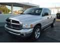 2002 Bright Silver Metallic Dodge Ram 1500 SLT Quad Cab  photo #3