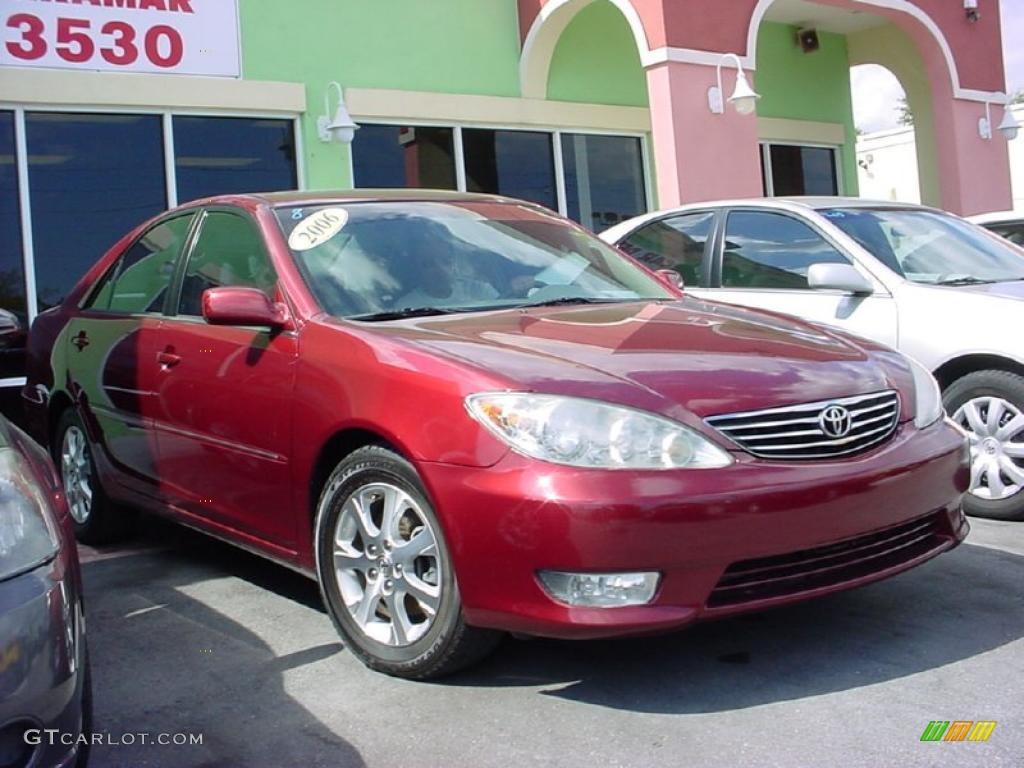 2006 salsa red pearl toyota camry le v6 25964714 car color galleries. Black Bedroom Furniture Sets. Home Design Ideas