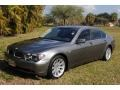 Titanium Grey Metallic 2002 BMW 7 Series 745Li Sedan