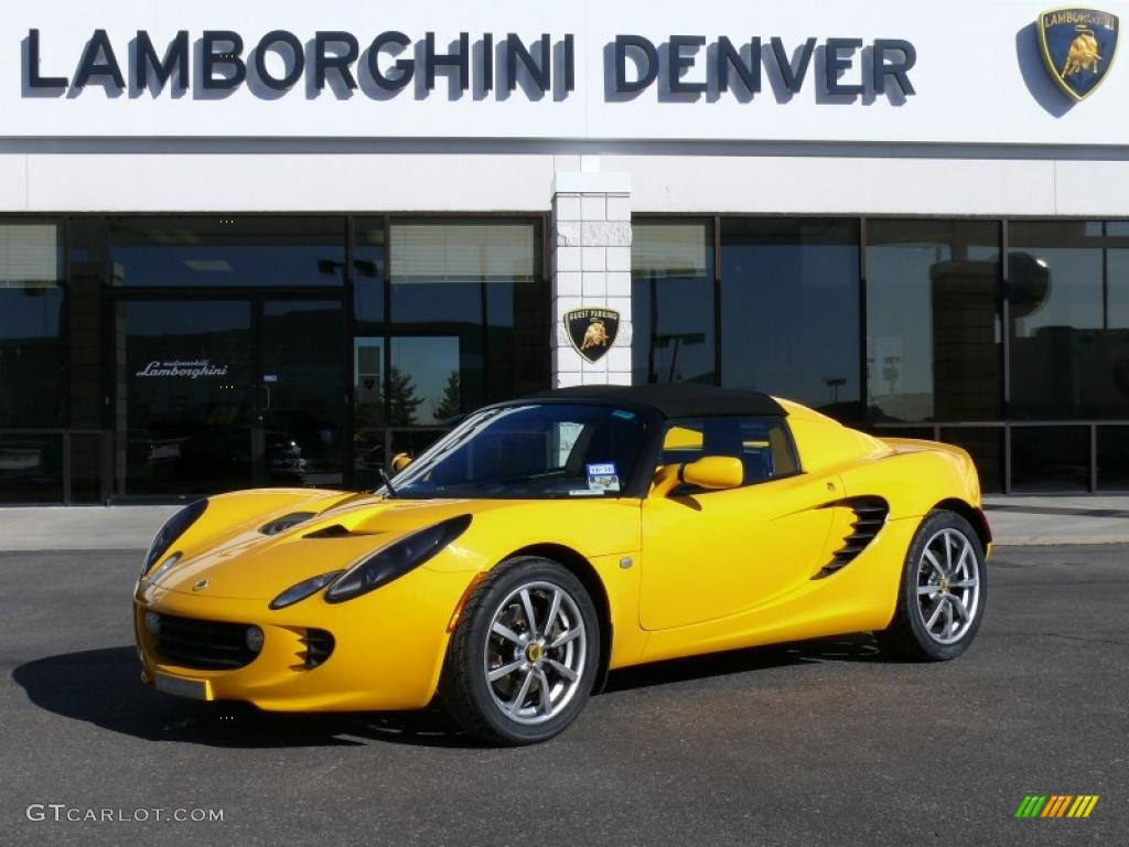 yellow lotus elise cars - photo #47