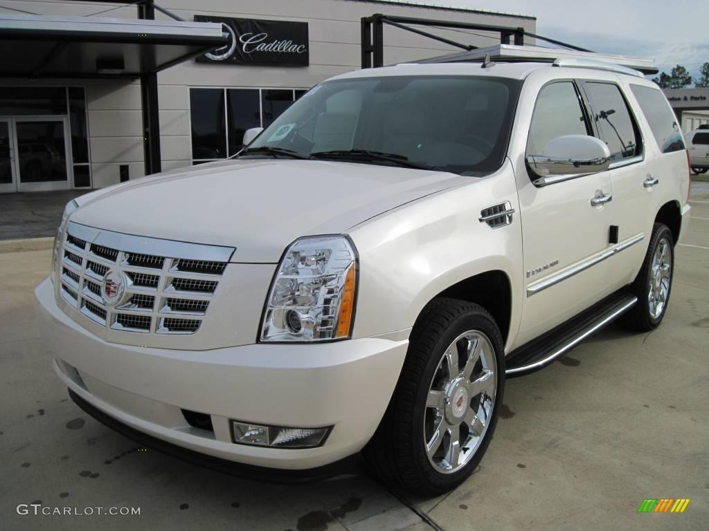 2009 white diamond cadillac escalade 25999889 car color galleries. Black Bedroom Furniture Sets. Home Design Ideas