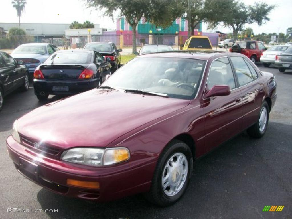 1996 ruby red pearl toyota camry xle v6 sedan 26000298 gtcarlot com car color galleries gtcarlot com