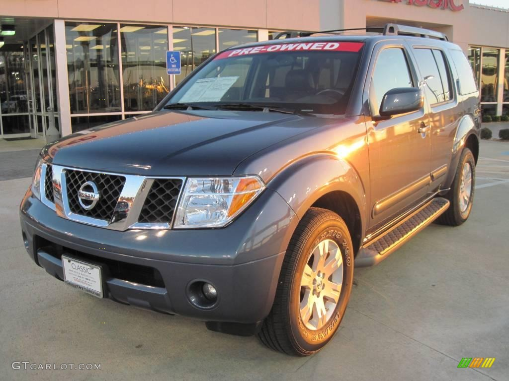 2007 storm gray nissan pathfinder le 26000030 gtcarlot. Black Bedroom Furniture Sets. Home Design Ideas
