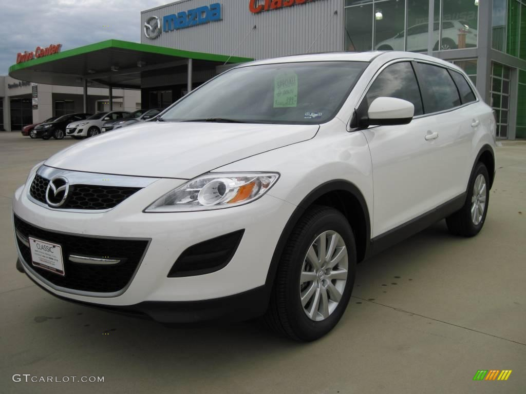2010 crystal white pearl mica mazda cx 9 touring 25999946. Black Bedroom Furniture Sets. Home Design Ideas