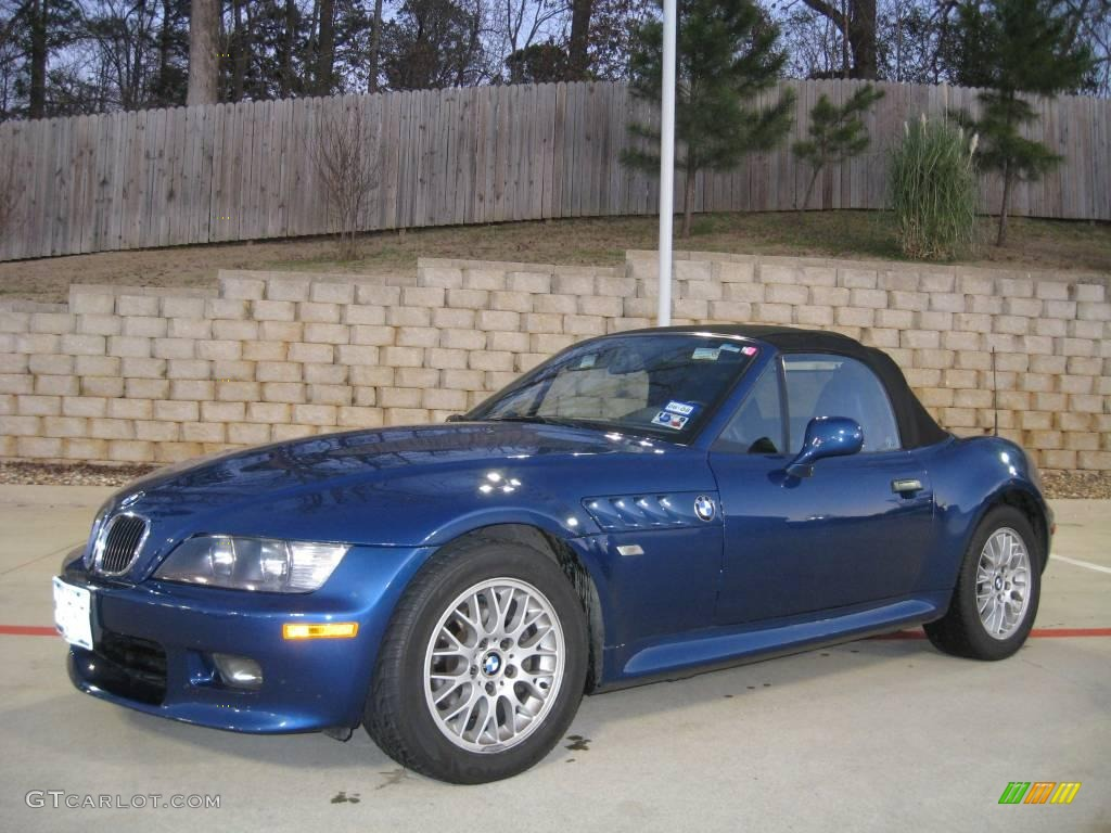 2000 Topaz Blue Metallic Bmw Z3 2 8 Roadster 25999974