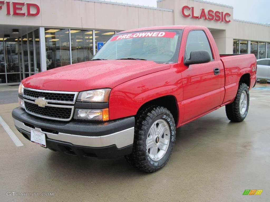 Victory Red Chevrolet Silverado 1500