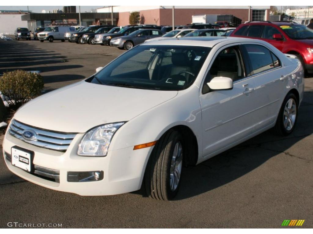 2008 White Suede Ford Fusion Sel V6 Awd 25999462 Gtcarlot Com