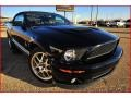 2007 Black Ford Mustang Shelby GT500 Convertible  photo #12