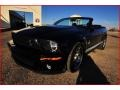 2007 Black Ford Mustang Shelby GT500 Convertible  photo #38